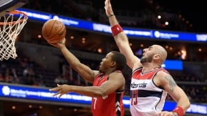Raptors wrap up pre-season with loss to Wizards