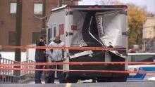 Garda truck attack