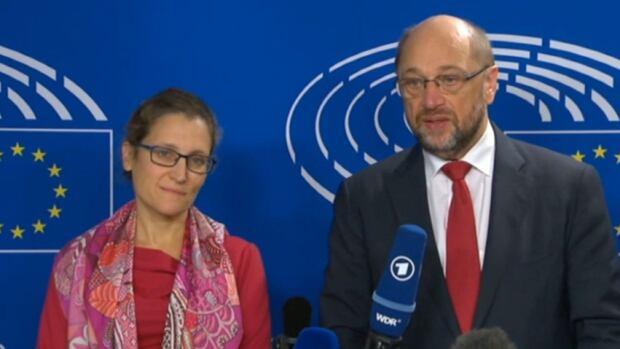 Martin Schulz confident EU-Canada deal can be signed
