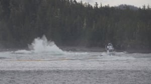 Bella Bella diesel spill response questioned by Heiltsuk First Nation Chief after booms fail
