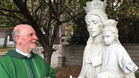 Missing head from statue of Jesus at Sudbury church returned, mystery solved