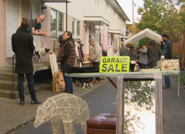 Garage sale Vancouver