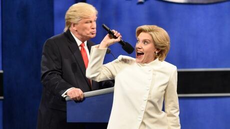 SNL mocks Trump's 'bad hombres' and Alec Baldwin's brother in debate sketch