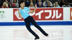 Nam Nguyen can't capitalize on personal best at Skate America
