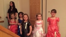 All Hallow's Eve pageant contestants