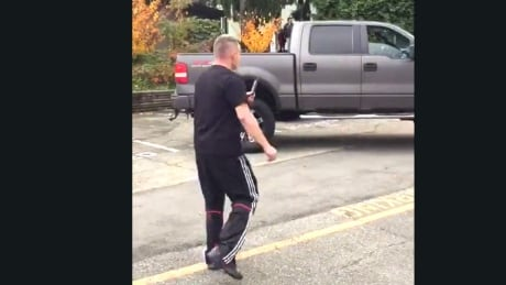Abbotsford police investigating 'shocking' racial slurs and altercation captured on video