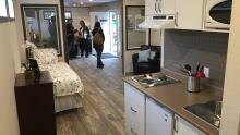 Vancouver modular suite interior