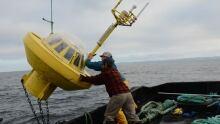 Wave Monitoring Buoy, Hesquiaht Sound