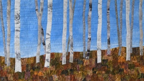 Nine art quilts worth almost $6k stolen right off the walls of a Vancouver church
