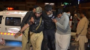 41 killed, 106 wounded after gunmen attack Pakistani police training centre