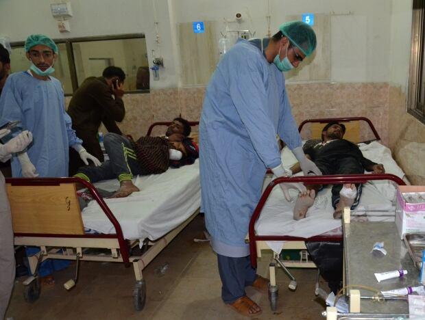 PAKISTAN MILITANTS ATTACK