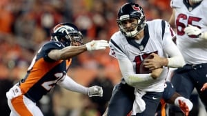 Broncos give Osweiler rude welcome