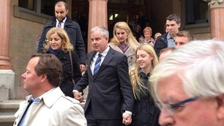 Dennis Oland bail release
