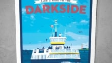 Eric Miller's Take a Ride to the Darkside went missing from the Canteen.