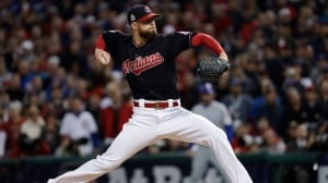 Indians shut out Cubs in World Series opener