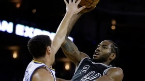 Spurs play spoiler in Kevin Durant's Warriors debut