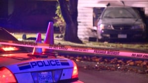 Man crashes car into house during targeted shooting in Burnaby