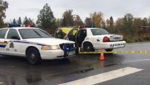 Langley Homicide scene