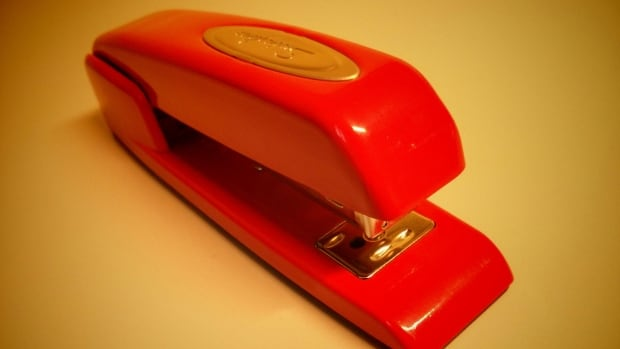 333 red stapler