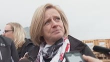 Premier Notley in Fort McMurray