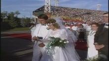 Grey Cup - Wedding - Taylor Field - SaskatchewanRoughriders