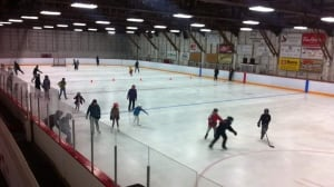 Tiny B.C. town holding Halloween fundraiser to save ice rink