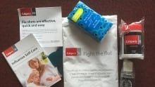 Calgary worker flu kits