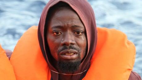 Refugee rescued