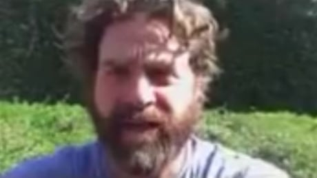 The story behind Zach Galifianakis' last-minute shout-out for Saskatoon mayoral candidate