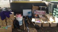 school earthquake supplies
