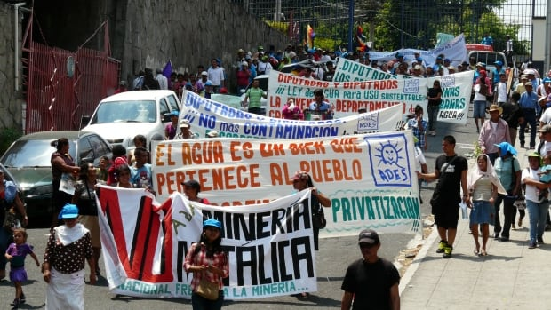 March to protest Pacific Rim mine in El Salvador