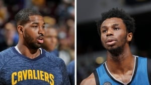 Tristan Thompson challenges Andrew Wiggins et al to 'step up'