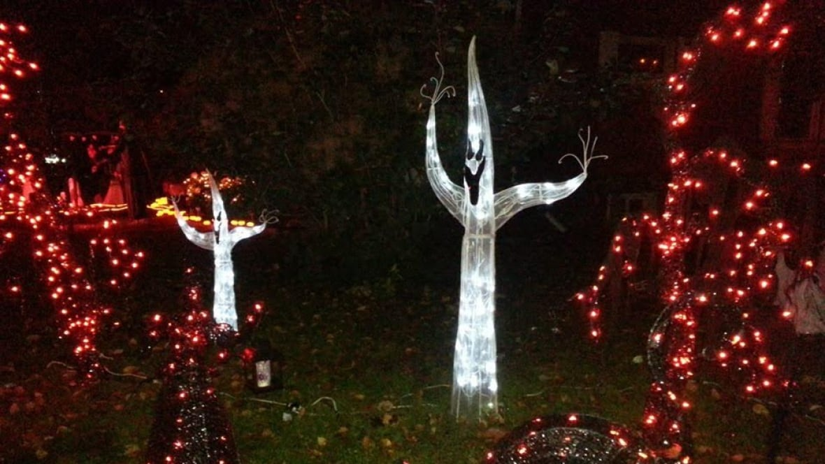 Stolen decorations dampen cambridge woman 39 s halloween spirit kitchener waterloo cbc news - Halloween decorations toronto ...