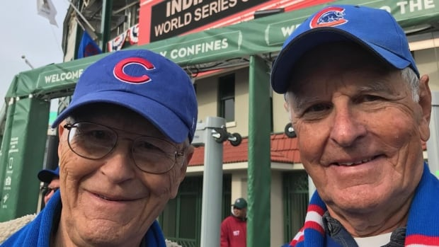 Phil and Frank Nienstedt, Chicago Cubs fans