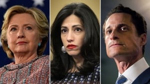 Clinton-related emails came in Weiner investigation: source