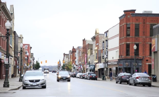 Woodstock, Ont. downtown