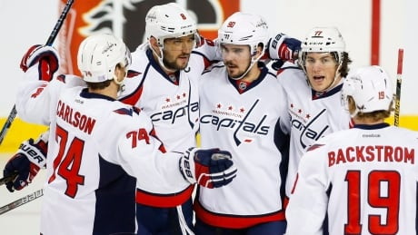 Marcus Johansson Leads Capitals Over Flames (video)