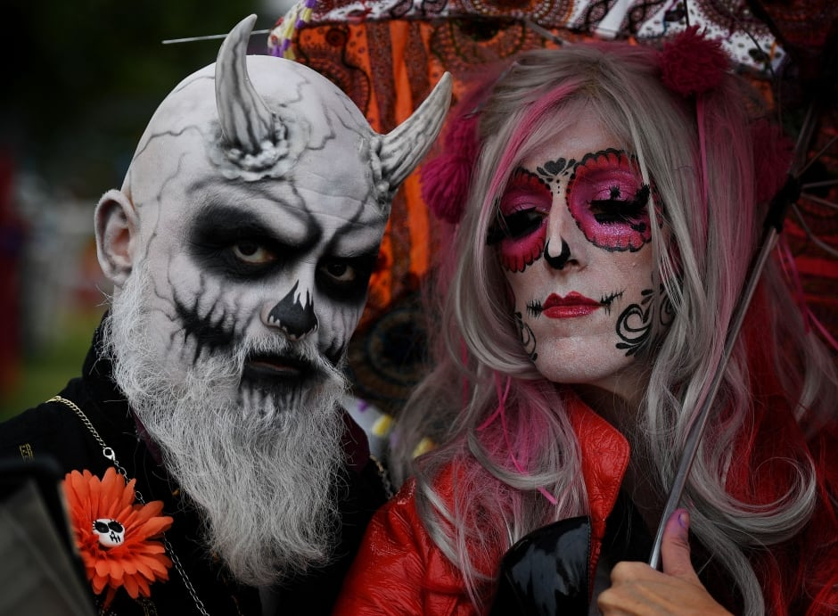 Атрибутами американского хэллоуина стали фонарик из тыквы: jack-o-lanterns