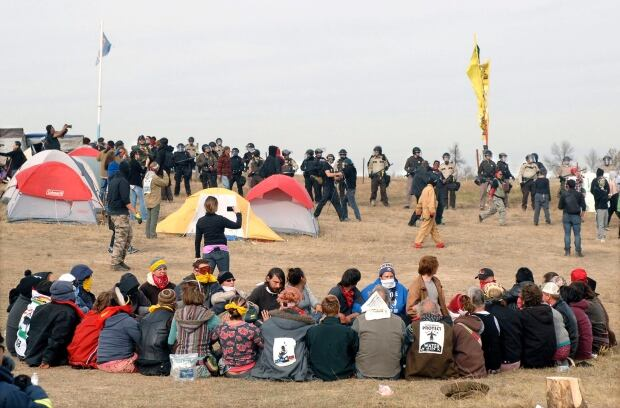 Clash with oil pipeline protesters ends