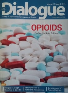CPSO Opioids issue