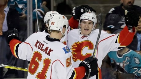 Tkachuk Has Biggest Night Of NHL Career In Flames Win Over Sharks (video)