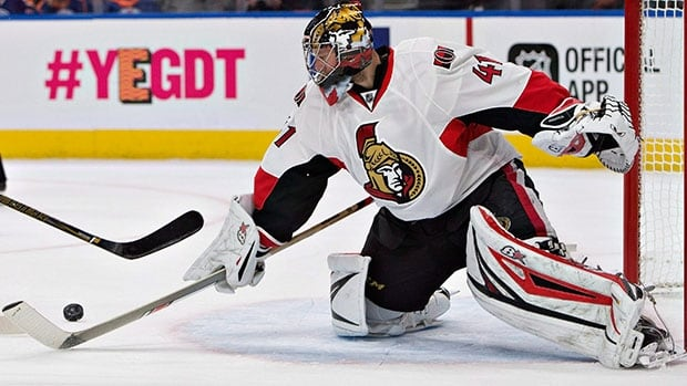 Craig Anderson To Start In Net For Senators On Saturday