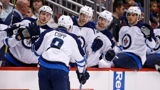 Jets' top line produces again in 3-2 win over Coyotes