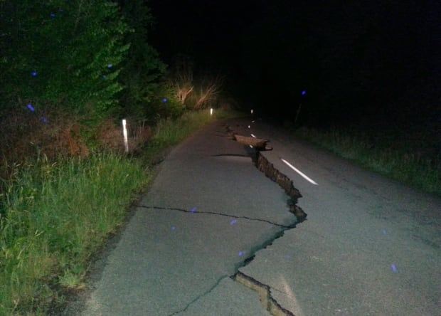 New Zealand Earthquake -- Nov. 14, 2016