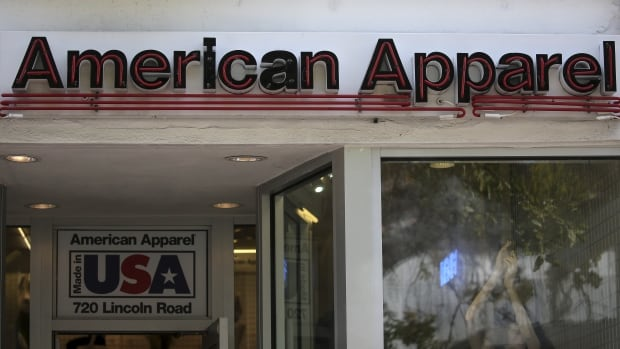 American Apparel files for bankruptcy in US