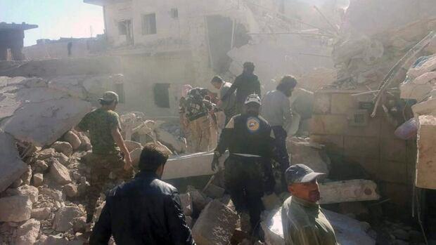 Syria: Heavy airstrikes resume on east Aleppo