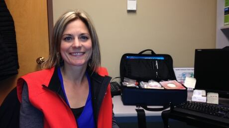 image of outreach nurse jenna zeigler