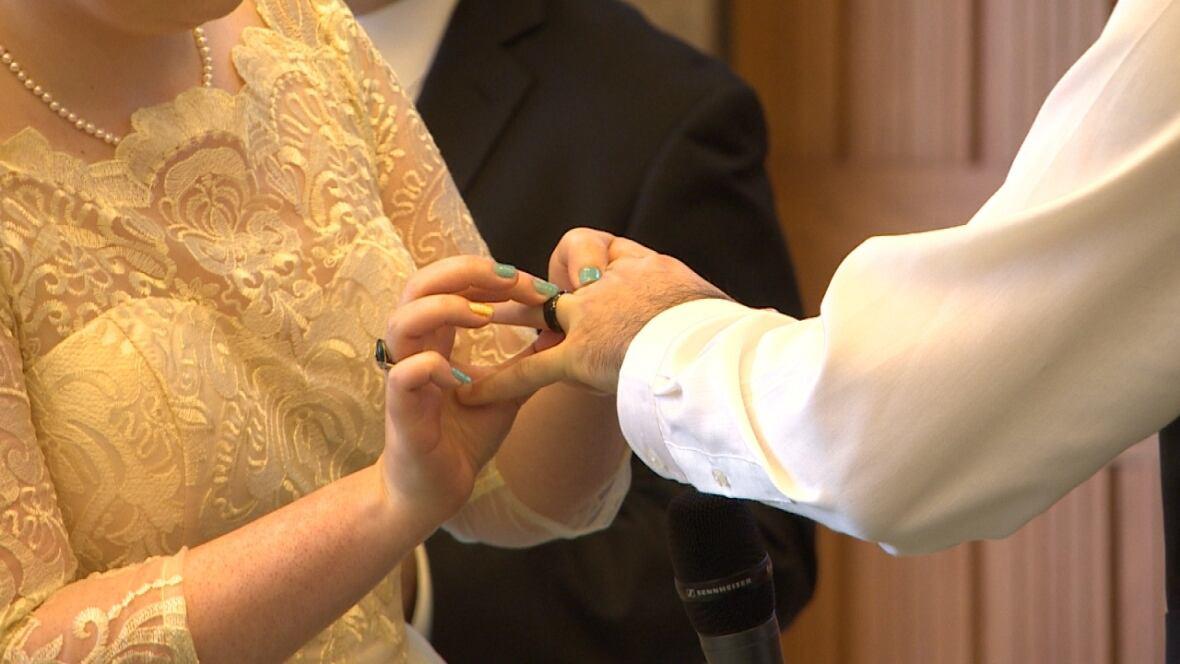 Cbc news wedding