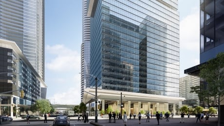 CF Cadillac Fairview office tower