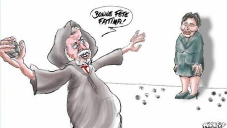 Jean-Marc Phaneuf cartoon